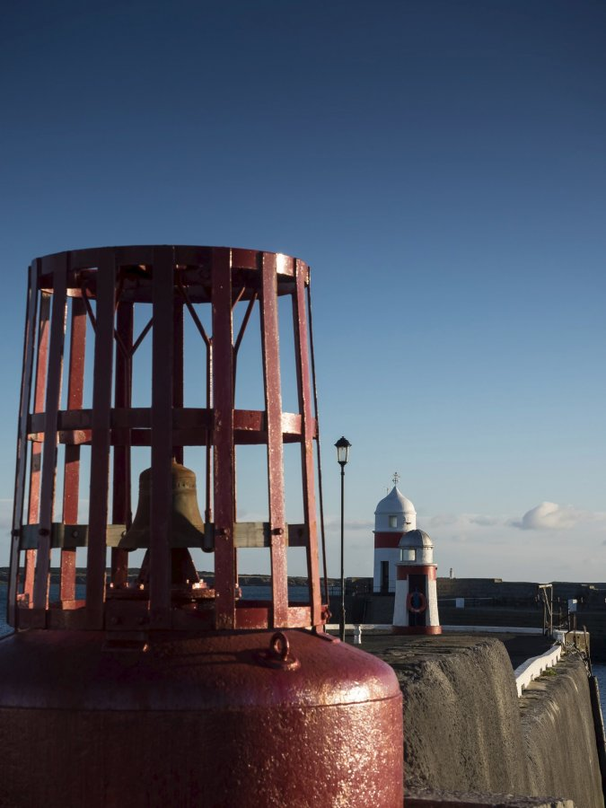 Bell Buoy & lighthouse